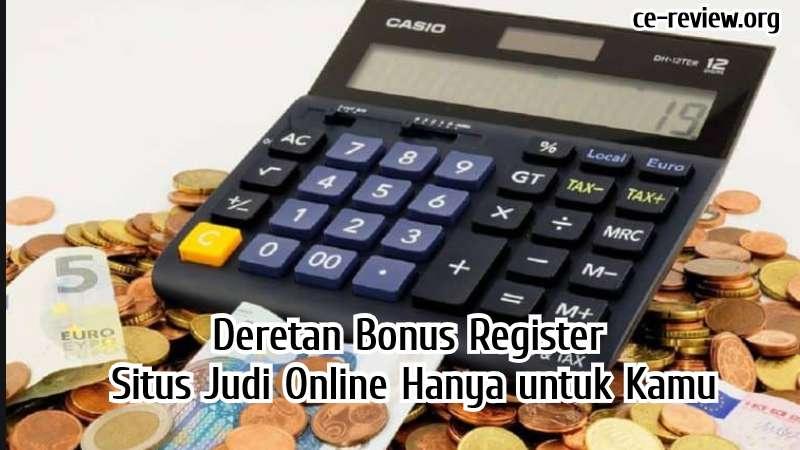 Bonus Register